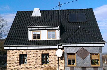 dachuberstand verkleiden stehfalz schiefer dacha 1 4 berstand gaube kaminabdeckung fassade verkleidung kunststoff